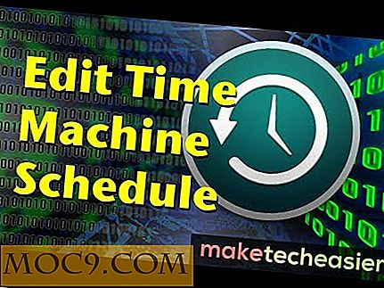 Slik endrer du Time Machine Backup Schedule for Mac