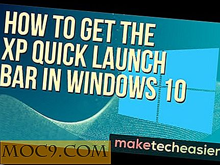 Hoe u de XP Quick Launch Bar in Windows 10 kunt krijgen