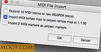 Slå MIDI-filer til multitrack-musikk med Reaper