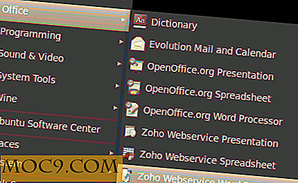Bruke Zoho Web Service som et alternativ til Open Office i Ubuntu